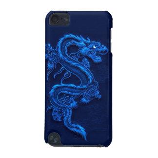 Het blauwe Hoesje van IPod van de Draak
