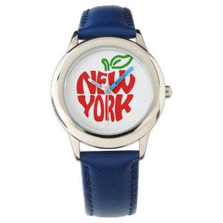 Het Blauwe Horloge van Kinder New York van de