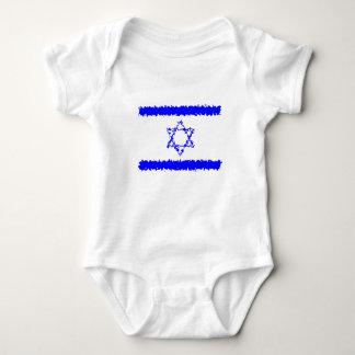 Het Blauwe Land van Israël van vlaggen Romper