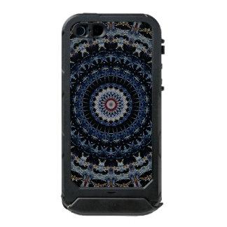 Het blauwe Mandala Hoesje van de iPhone5/5s ATLAS Incipio ATLAS ID™ iPhone 5 Hoesje