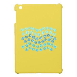 Het blauwe MiniHoesje van iPad van Golven iPad Mini Case