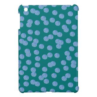 Het blauwe MiniHoesje van iPad van Stippen Hoesje Voor iPad Mini