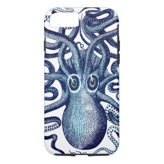 Het blauwe Monster van het Zee van de Octopus iPhone 8/7 Hoesje