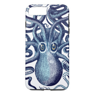 Het blauwe Monster van het Zee van de Octopus iPhone 8/7 Plus Hoesje