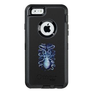 Het blauwe Monster van het Zee van de Octopus OtterBox Defender iPhone Hoesje