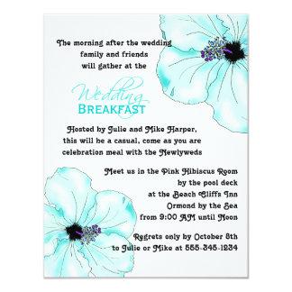 Het blauwe Ontbijt van het Huwelijk van de Kunst Kaart