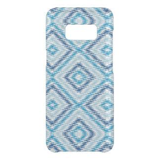 Het blauwe Patroon van de Diamant Get Uncommon Samsung Galaxy S8 Hoesje