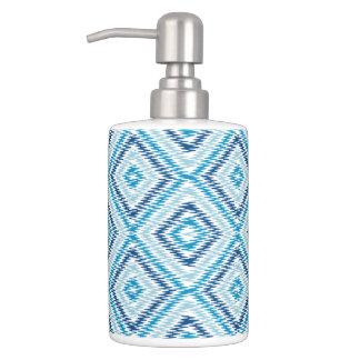Het blauwe Patroon van de Diamant Tandenborstelhouder