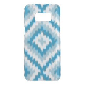 Het blauwe Patroon van de Zigzag Get Uncommon Samsung Galaxy S8 Hoesje