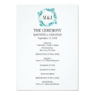 Het blauwe Programma van het Huwelijk van de Kroon