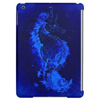 Het blauwe Schilderen Seahorse