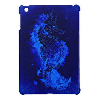 Het blauwe Schilderen Seahorse iPad Mini Case