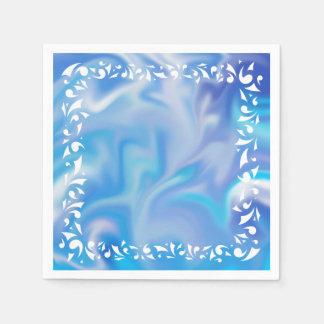 Het blauwe Servet van Dromen Wegwerp Servetten