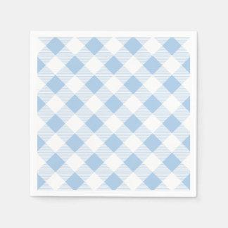 Het blauwe Servet van het Document van het Patroon Wegwerp Servet