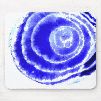 Het blauwe Stootkussen van de Muis van de Ui Muismatten