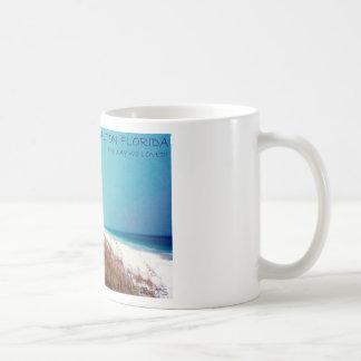 Het blauwe Strand van de Berg Koffiemok