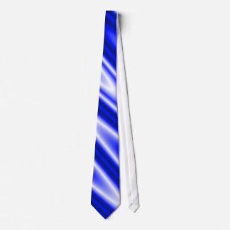Het blauwe Stropdas van de Zigzag