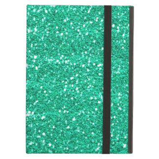 Het blauwgroen Groene Hoesje van de Lucht van iPad
