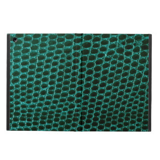 Het blauwgroen Groene Vreemde iPad Hoesje van de