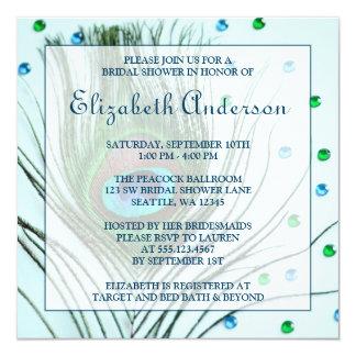 Het Blauwgroen Vrijgezellenfeest van de Veer van 13,3x13,3 Vierkante Uitnodiging Kaart