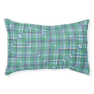 Het blauwgroene Paarse Bed van het Huisdier van de Hondenbedden