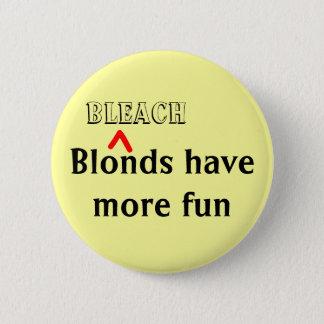 """Het """"bleekmiddel de Speld Blonds heeft van Meer Ronde Button 5,7 Cm"""