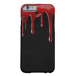 Het Bloed van Falln druipt Zwarte Barely There iPhone 6 Hoesje