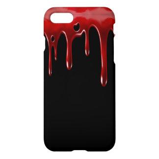 Het Bloed van Falln druipt Zwarte iPhone 8/7 Hoesje