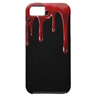 Het Bloed van Falln druipt Zwarte Tough iPhone 5 Hoesje
