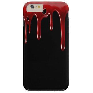 Het Bloed van Falln druipt Zwarte Tough iPhone 6 Plus Hoesje