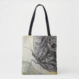 Het bloeien Kunst - de Tekening van de Vlinder met Draagtas