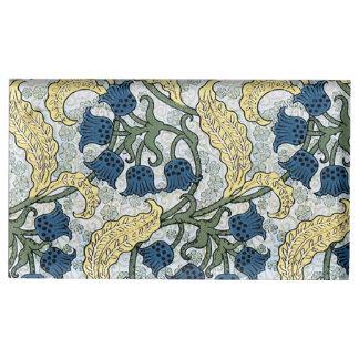Het bloemen Blauwe Lelietje-van-dalen van Bloemen Tafelnummer Houder