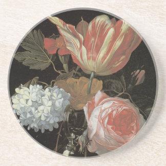Het bloemen Fijne Onderzetter van de Kunst