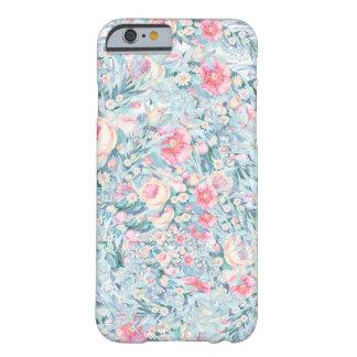 Het bloemen patroon van de Verf Barely There iPhone 6 Hoesje