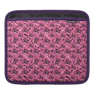 Het bloemen Roze Patroon van de Collage Sleeve Voor iPad