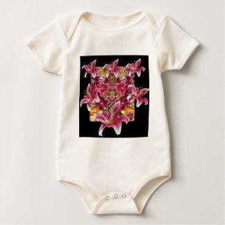 het bloemenart. van ster gazer lelies baby shirt