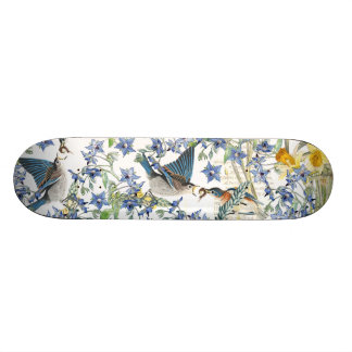 Het BloemenSkateboard van de Dieren van de Vogels Skateboard Deck