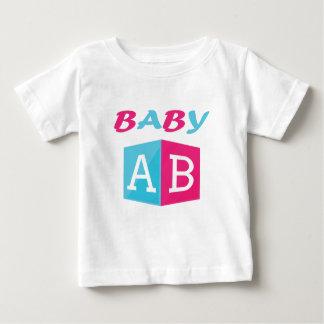 Het Blok van ABC van het baby Baby T Shirts