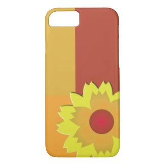Het Blok van de Kleur van de zonnebloem iPhone 8/7 Hoesje