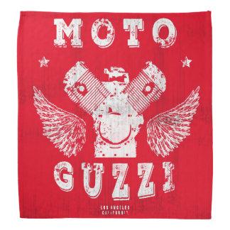 het Blok van de Motor van de Steen van motoGuzzi Bandana