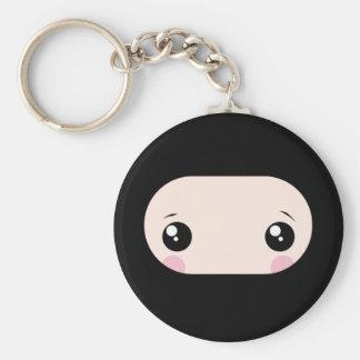 Het blozen Kawaii Ninja Sleutelhanger