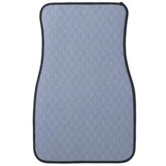 Het Blue Diamond Quilted Stitched Patroon van Auto Vloermat