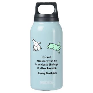 """Het Boeddhisme """"Hop van het konijntje de Fles van"""