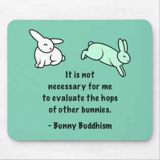 """Het Boeddhisme """"Hop van het konijntje van Andere Muismatten"""