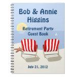 Het Boek van de Gast van de Partij van de Pensione Ringband Notitieboek