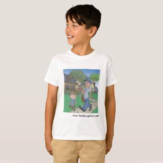 Het boek van de Hik - kinder tagless t-shirt -