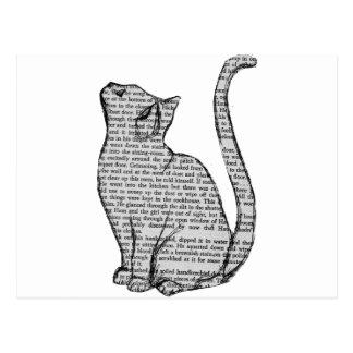 Het Boek van de kat Briefkaart