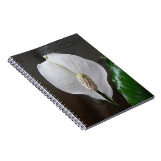 Het boek van de Nota van de bloem Ringband Notitieboek