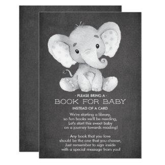 Het Boek van het Baby shower van de Olifant van Kaart