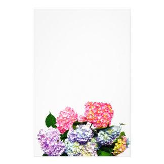 Het Boeket van de hydrangea hortensia Briefpapier